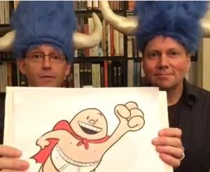 Brad Meltzer and Captain Underpants