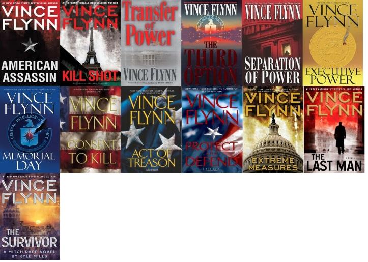 Vince Flynn books in order.jpg