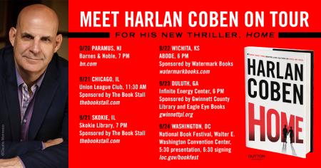 Harlan Coben Home Book Tour