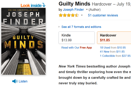 Guilty Minds Deal of the Day