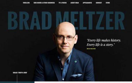 Brad Meltzer new website